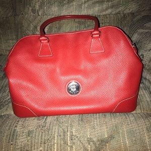 Dooney and Bourke red handbag